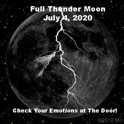 Full Thunder Moon July 4/5, 2020