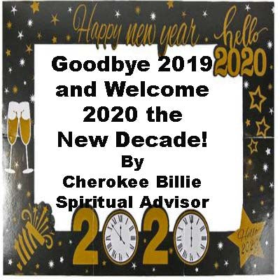 Goodbye 2019 and Welcome 2020 the New Decade!