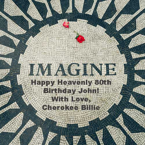 In Memory of John Lennon's 80th Birthday!