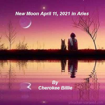 New Moon April 11, 2021 in Aries