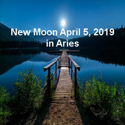 New Moon April 5, 2019 in Aries