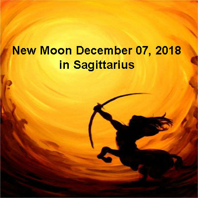 New Moon December 07, 2018 in Sagittarius