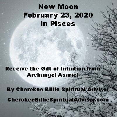 New Moon February 23, 2020 in Pisces