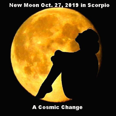 New Moon Oct. 27, 2019 in Scorpio