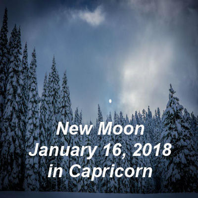 January 16, 2018 New Moon