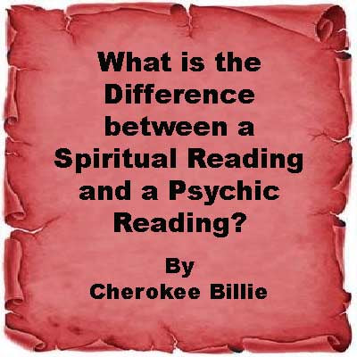 What is the Difference between a Spiritual Reading and a Psychic Reading?