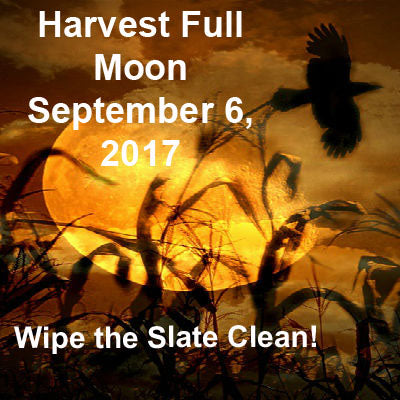 Harvest Full Moon September 6, 2017