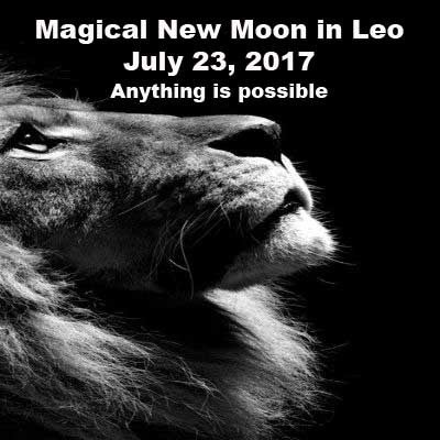 Magical New Moon July 23, 2017