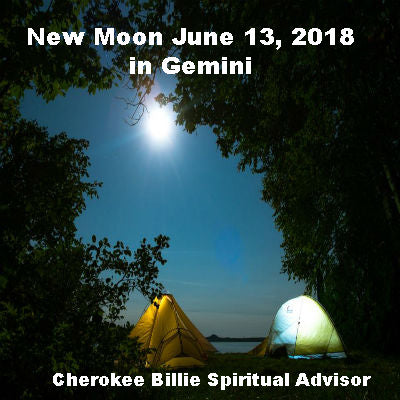 New Moon June 13, 2018 in Gemini