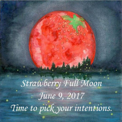 Strawberry Full Moon June 9, 2017