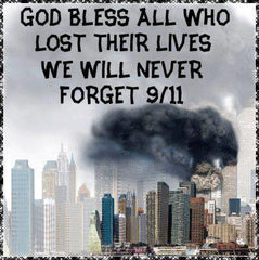 God bless all who lost their lives.  We will never forget