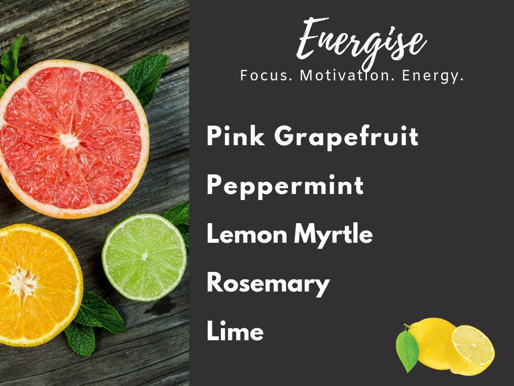 Energise- Essential Oil Collection