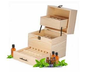 Essential Oil Storage Box-Charcoal+Oil-Charcoal+Oil