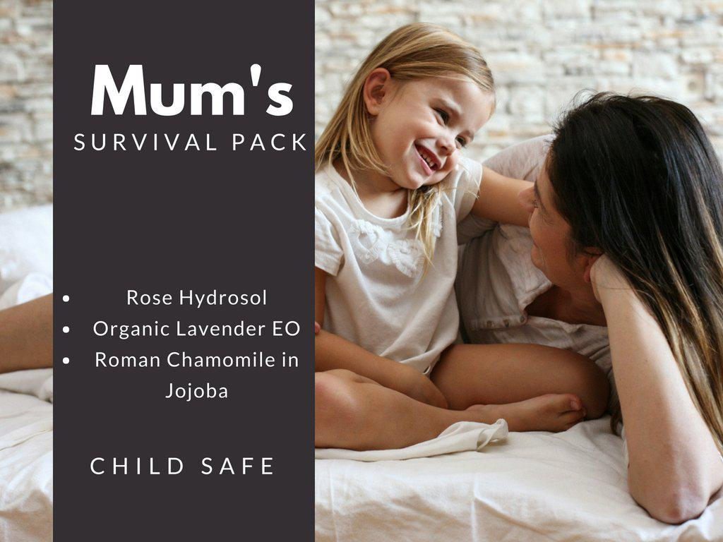 Mum's Survival Pack-essential oils-Charcoal+Oil-Charcoal+Oil