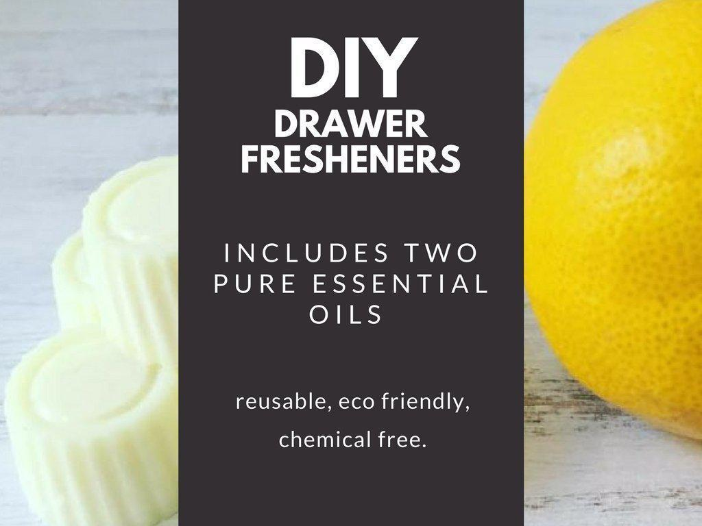 Wax & Essential Oils DIY Kit-Charcoal+Oil-Lemongrass & Mandarin-Candelilla (vegan)-Charcoal+Oil