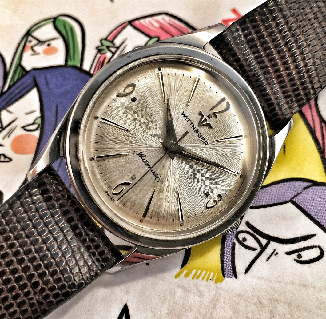 DAZZLING~60s LONGINES-WITTNAUER GENT'S AUTOMATIC~SERVICED