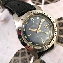 NEAR MINT~60s NORTH STAR BRILLIANT BLUE 20ATM SKIN-DIVER