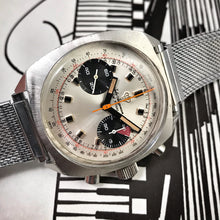 RAD~LATE 60s LARGE EYE JULES JURGENSEN PANDA CHRONO DIVER