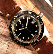 MINTY~EARLY 70s OLMA GLOSS DIAL SKIN-DIVER AUTOMATIC