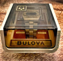 "1974 BULOVA ACCUQUARTZ GOLDEN ""BIG BLOCK"" L.E.D~WITH BOX"