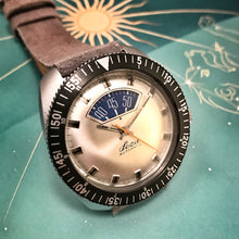 "SPACY~70s LECA 150M ""PARKING METER"" AUTOMATIC DIVE CHRONO"