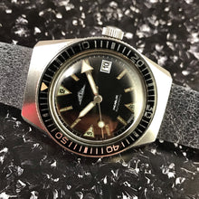 UNUSUAL~1960s FRENCH SAMOZ 20ATM BAKELITE BEZEL DIVER~SERVICED