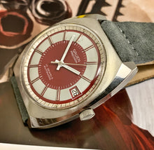 RED WINE~LATE 60s GRUEN PRECISION AUTOWIND BULLSEYE