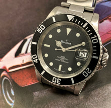 RUGGED~LATE 80s BULOVA AUTOMATIC PROFESSIONAL DIVER