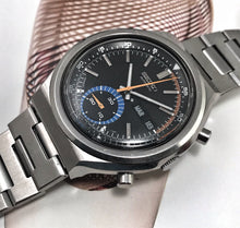 COLORFUL~1974 SEIKO 6139-7069 CHRONOGRAPH~ORIGINAL BRACELET