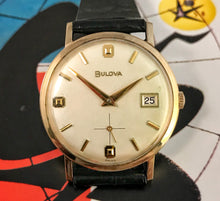 ELEGANT~1967 BULOVA SMALL SECONDS DRESS WATCH~SERVICED/BOX&PAPERS