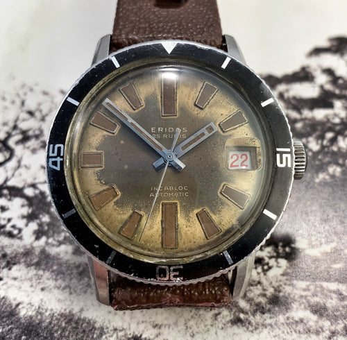 TRIPPY~TROPICAL EARLY 60s ERIDAS SKIN-DIVER AUTOMATIC