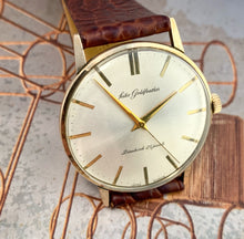 CLASSY~1962 SEIKO GOLDFEATHER 25 JEWEL MANUAL WINDER~SERVICED