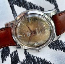 TROPICAL~60s TECHNOS GOLDSHIELD 25 JEWEL AUTOMATIC