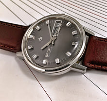 COOL~LATE 60s BAYLOR DAY/DATE AUTOMATIC