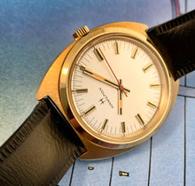 SMOOTH~70s LARGE HAMILTON GOLD WATCH