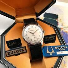 REFINED~MINT '67 BULOVA~SERVICED WITH BOX/TAGS