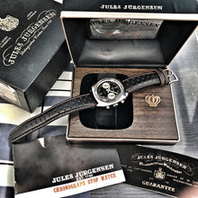 FULL-SET~70s JULES JURGENSEN 7733 CHRONO~BOX & PAPERS