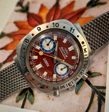 COLORFUL~LATE 60s TROPICAL ROYCE DIVE CHRONOGRAPH