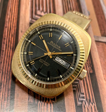 SHARP~1971 GOLD BULOVA OCEANOGRAPHER 333 DAY/DATE~SERVICED