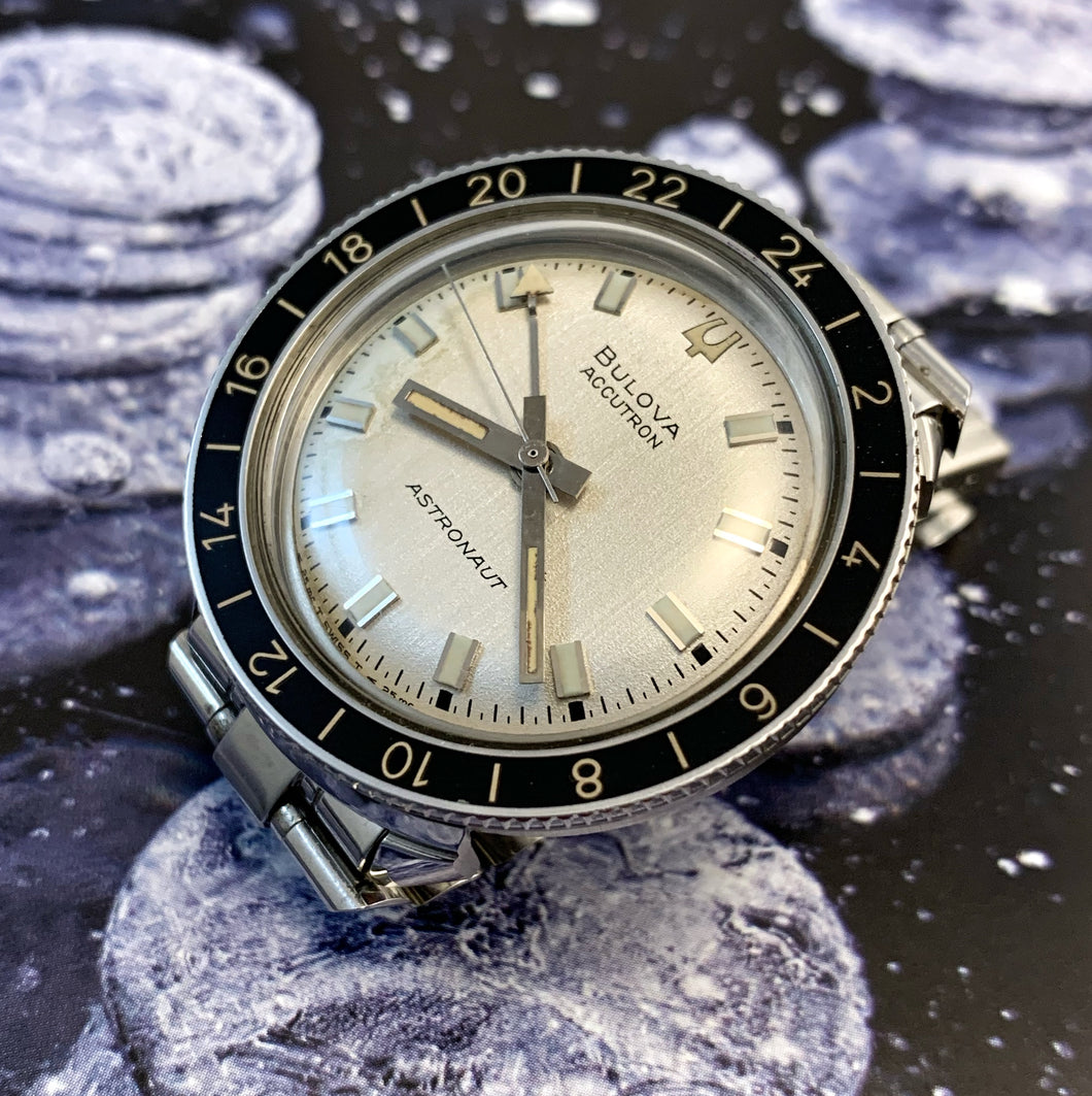 SUBLIME~1968 BULOVA SWISS ACCUTRON ASTRONAUT GMT