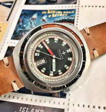 KILLER~70s PRONTO 300 METER COKE BAKELITE BEZEL DIVER~SERVICED