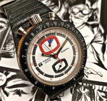 WILD~70s TISSOT SIDERAL LEMANIA POWERED BULLHEAD CHRONO