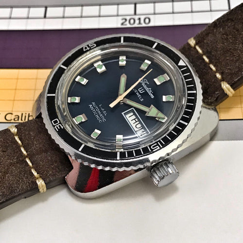 FRENCH~TRADITION/YEMA SOUS MARINE AUTOMATIC DIVER