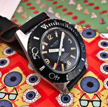 FAR-OUT~60s BELFORTE BY BENRUS 666 SKIN-DIVER~SERVICED