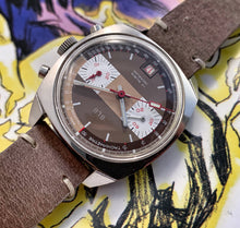 FUNKY~70s BLB FRENCH RACING VALJOUX 7734 CHRONOGRAPH