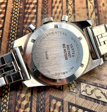 AMAZING~60s LE PHARE VALJOUX 92 SKIN-DIVER CHRONOGRAPH
