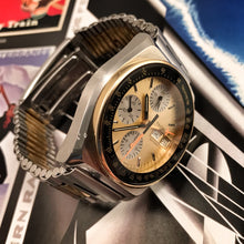 "2-TONE~80s TECHNOS ""HEUER AUDI SPORTS"" LEMANIA 5100"