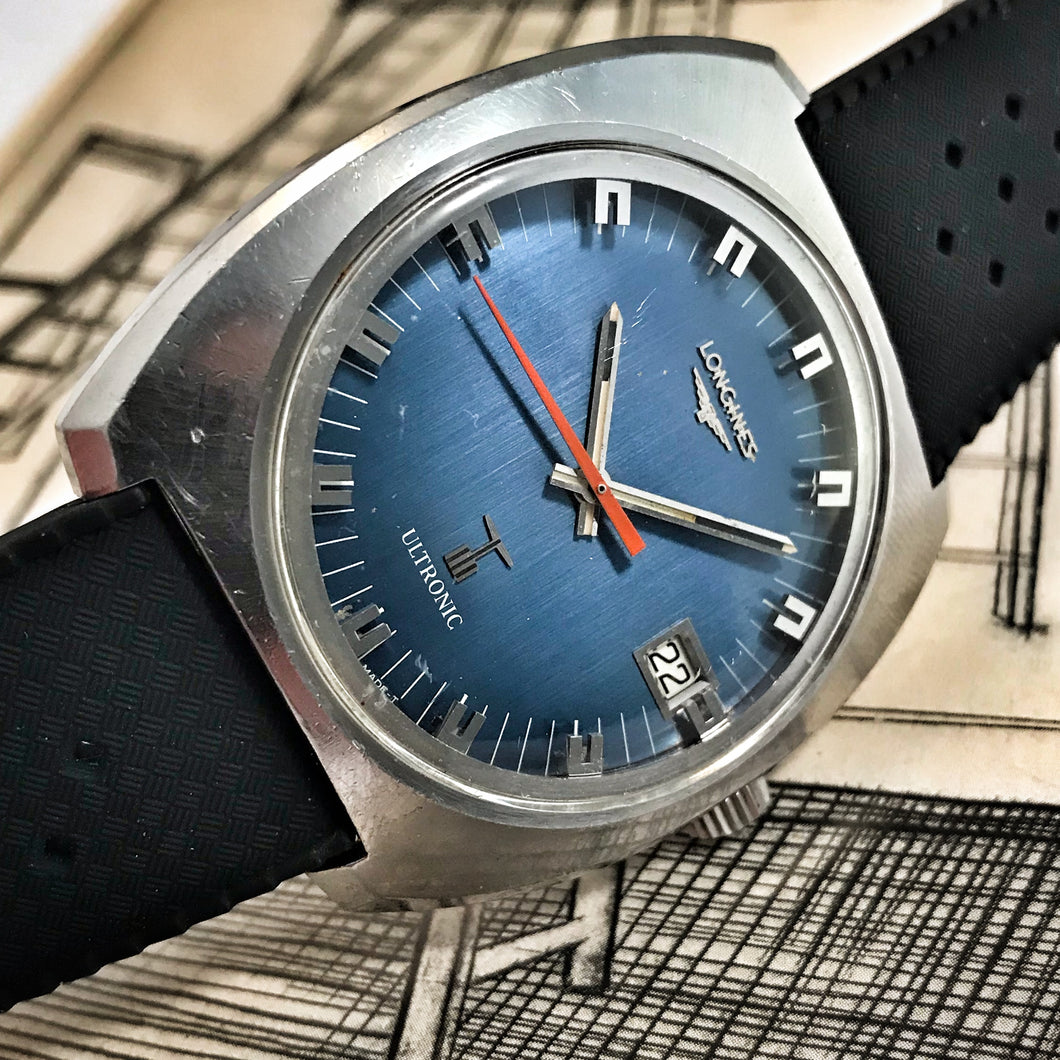 MASSIVE~70s LONGINES ULTRONIC TUNING FORK WATCH