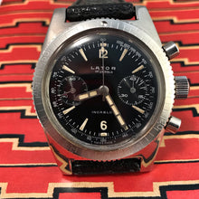 SUBLIME~60s LATOR SKIN DIVER CHRONOGRAPH~SERVICED