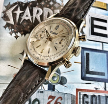 MINTY~60s GALLET GENT'S DRESS CHRONOGRAPH